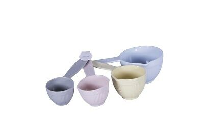 NEW Avanti Ribbed Measuring Cups Pastel