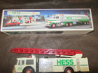 Two 1980's Hess Collectible Trucks