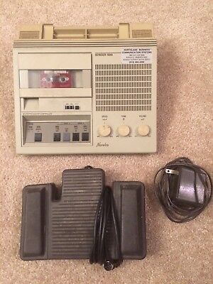 Philips System 500 mini cassette transcription system with foot control