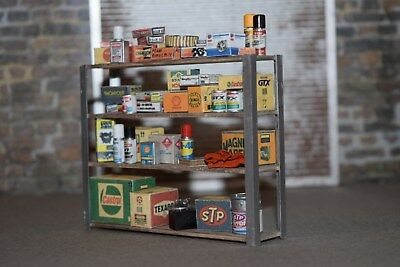 1/24 Automotive Products Shelf  4 your Diorama Garage Built All parts included