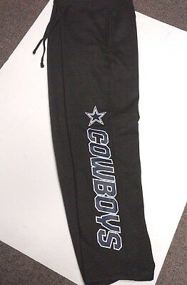38e5199b DALLAS COWBOYS MENS Authentic Grey Team Nfl Sweatpants New Pick Size Med Xl