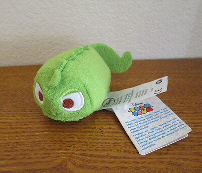 "DISNEY TSUM TSUM PLUSH PASCAL from Tangled 3.5"" AUTHENTIC US NEW!!!"