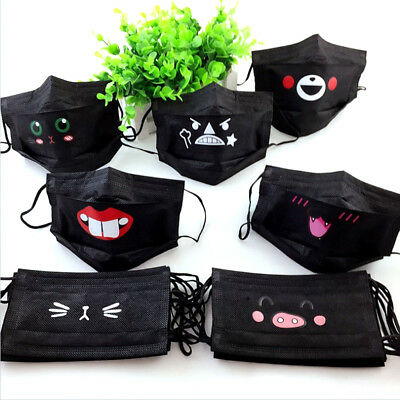 10Pcs Cute Anime Disposable Adult Haze Mouth-muffle Anti-Dust Mouth Mask