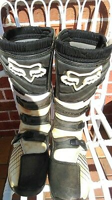 fox motocross boots, comp5, to fit size 12 shoe or boot.