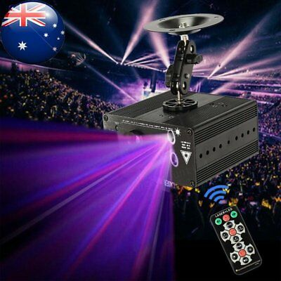 48 Patterns LED Stage Lights Lighting RGB Laser Projector Young Party Disco KTV