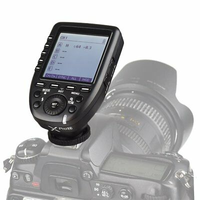 In Stock Godox XPro-N 2.4G i-TTL LCD Wireless X System Flash Trigger For Nikon