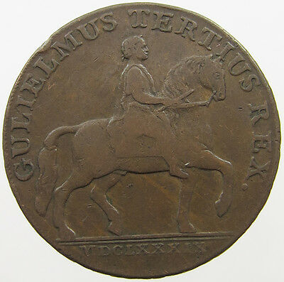 Great Britain Half Penny 1791 Hull   #lo 177