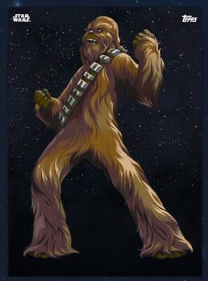 Star Wars Card Trader - GALACTIC ICONS Chewbacca