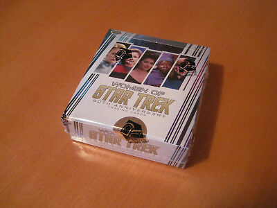 Star Trek Women 50th Anniversary  Trading Card Box