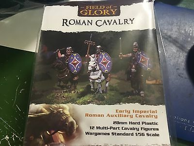 28mm Imperial Roman Cavalry Wargames Factory Plastic Miniatures (12 figures)