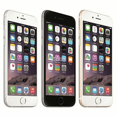 Apple iPhone 6 Smartphone - 16 64 128 GB Unlocked Space Grey Rose Gold Silver #E