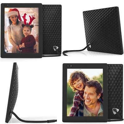 Nixplay Seed 10 Inch WiFi Cloud Digital Photo Frame with IPS Display iPhone Set