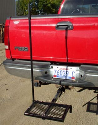 KOEHN Handy Step Reciever Hitch Tailgate Step Pickups Trucks Easy Safe 350 lbs