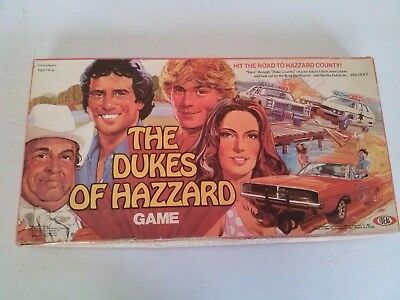 Vintage The Dukes of Hazard Board Game. Complete. Rare