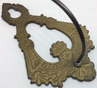 Antique Cast Iron Wall Spike Hook Bill Receipt Note necklace jewelry Holder hook