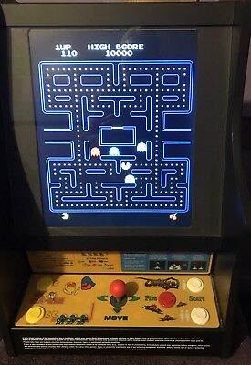 MINT!! PAC-MAN/MS PAC-MAN/GALAGA for Christmas! Authentic Table Top Vintage Game