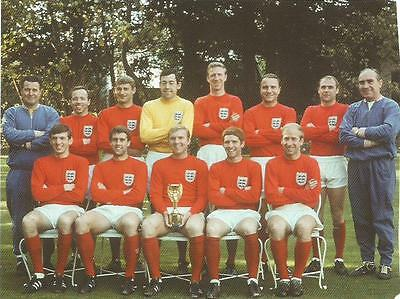England 1966 World Cup Winners Team Photo Print.