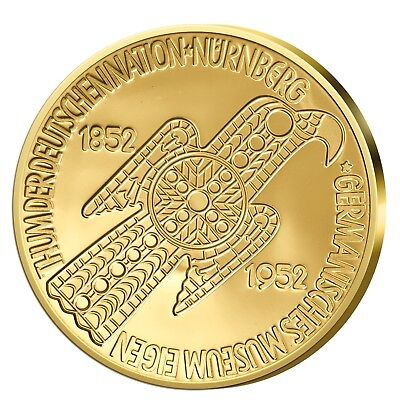 Germanisches Museum in Gold Neuprägung 2013 PP 1/10oz