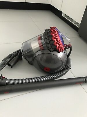 DYSON Big Ball Total Clean Cylinder Bagless Vacuum Cleaner 800 W Red & Iron