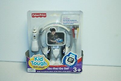 Fisher Price Kid tough DVD Player Accessory On The Go Set sealed 3+