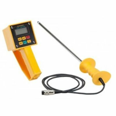 DRAMINSKI HMM Hay Moisture Meter Tester w/ Probe Digital LCD Display Durable