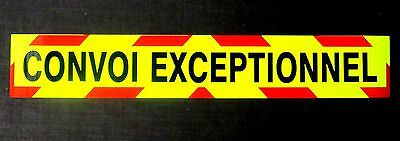 4x4 Response Fluorescent Magnetic Warning Sign