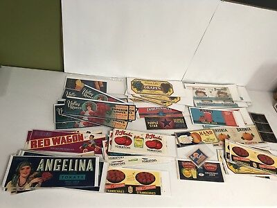 100+ Vintage Advertising Labels Red Wagon Angelina Independent Haxton Paris