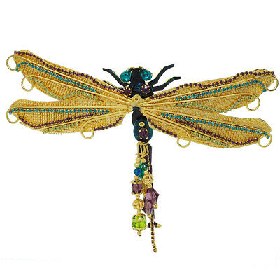 Lunch At The Ritz Damselfly Dragonfly Pin RARE from Esme's Vault