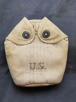 WWI US Army Canteen Carrier dated 1917