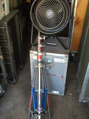 Reel Efx RE1 Fan in case with Stand