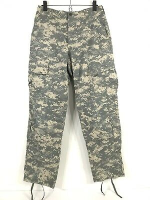 Army Issue Digital Print ACU Combat Uniform Trousers Pants Sz S Small MILITARY