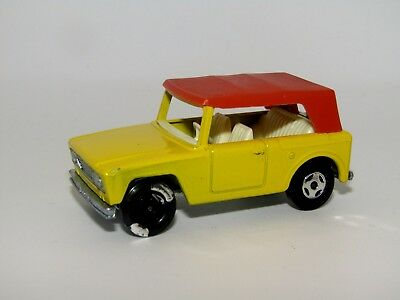 Matchbox Superfast No 18 Field Car HOTFOIL FRONT WHEEL ERROR Near Mint Unboxed