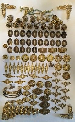 Lot of 120+ Pieces of Vintage Victorian Reproduction Hardware