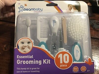 Dreambaby Essential Grooming Kit White 10 Piece