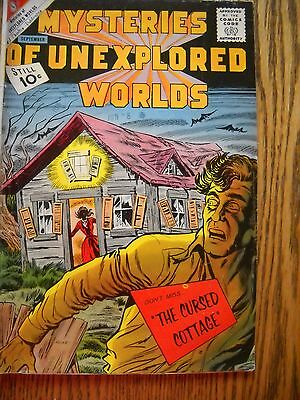 "MYSTERIES OF UNEXPLORED WORLDS comic book ""THE CURSED COTTAGE"""
