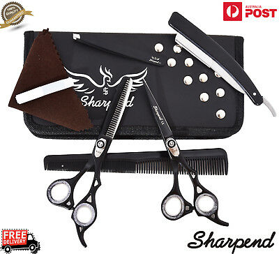 """6.5"""" Professional Salon Hairdresing Hair Cutting Thinning And Barber Scissor Set"""