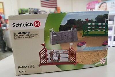 Schleich Farm Life Show jumping Course #42271 New