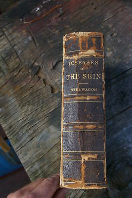 "1903 Medical Book ""Diseases of the Skin"" by Henry W. Stelwagon MD. Ph.D."