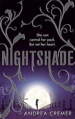 NEW Nightshade By Andrea Cremer Paperback Free Shipping