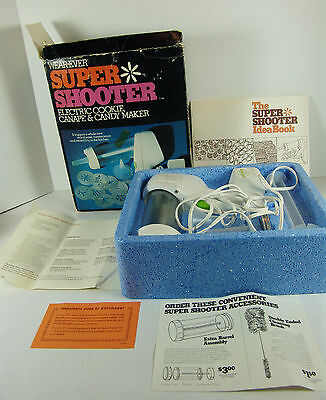 Wear-Ever Super Shooter Electric Cookie Press Canape Candy Maker