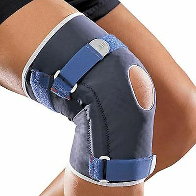 Knee Brace Elastic Knit Support Adjustable Flexible Reinforced Ligament Protecti