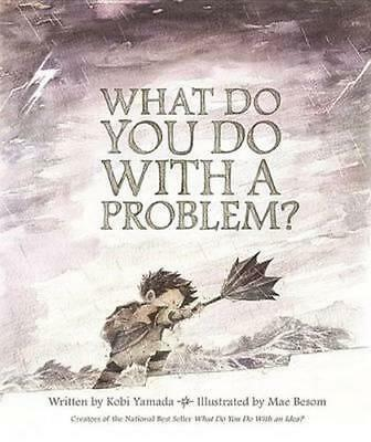 NEW What Do You Do with a Problem? By Kobi Yamada Hardcover Free Shipping