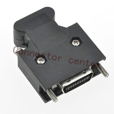 10PCS/Lot MDR Connector 20 Way Screw Compatible with 3M 10120-3000PE 10320-52F0