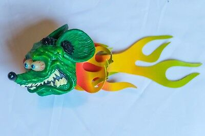 """Ed """"Big Daddy"""" Roth RAT FINK Antenna topper 2003, never used."""
