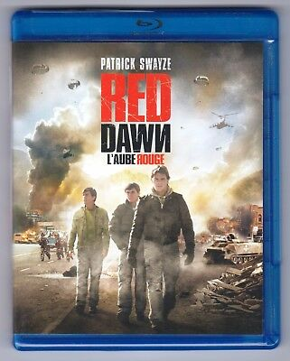 Red Dawn (Blu-ray Disc, 2012, Canadian bilingual) Patrick Swayze