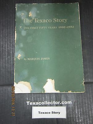 The Texaco Story Soft Cover Book