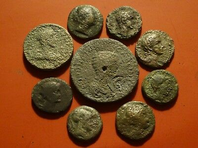 Ancient Greek & Roman Coins, 300 Bc To 250 Ad  ~  Make Me An Offer!