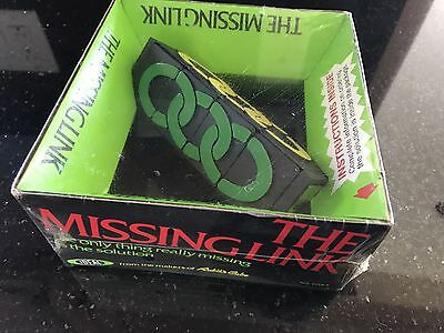 NEW Vintage THE MISSING LINK puzzle game SEALED 1981 From The Makers Rubiks Cube