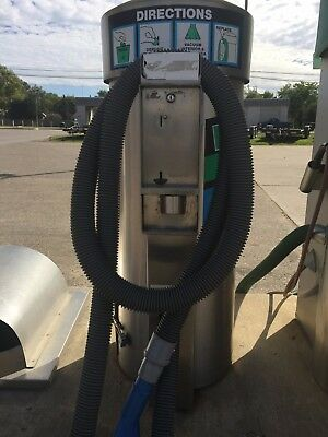Doyle Stainless Industrial Coin Operated Vacuum Model 64 120 Volt. Works Great