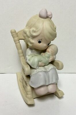 Precious Moments 'Love Never Leaves A Mother's Arms' Figurine